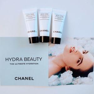 Chanel hydra beauty micro cream x 3 tubes, BN!
